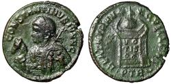 "Ancient Coins - Constantine II ""Shield Decorated With Soldiers, Horse Portrait"" Extremely Rare"