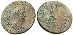 "Ancient Coins - Aurelian AE33 ""Fortuna-Tyche, Kestros"" Pisidia, Cremna (Kremna) Rare VF"