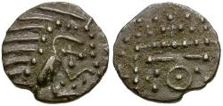World Coins - Near mint plumed bird sceat. Yorkshire find.