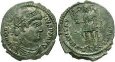 Ancient Coins - VF+ Magnentius centenionalis.