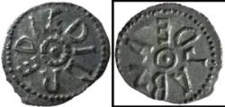 World Coins - Rare Æthelred I with Archbishop Eanbald I sceat.