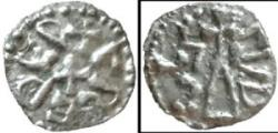 """World Coins - Extremely rare """"Cudcils"""" billon sceat"""