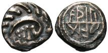 World Coins - RARE! Aethiliraed Series (E), type 105 sceat.