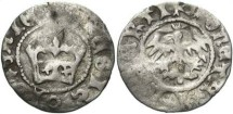 World Coins - Jan Albert (1492-1501 AD) 1/2 Krakauer Groschen