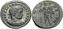 Ancient Coins - Constantine I, as caesar (306-307), Follis.