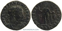 Ancient Coins - CONSTANTINE I, The Great . (AD 306-337) Follis, 2.91g.  Arles. SOLI INVICTO. Scarce.
