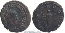 Ancient Coins - QUINTILLUS. (AD 270) Antoninianus, 3.36g.  Rome. Scarce