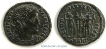 Ancient Coins - CONSTANTINE I, The Great . (306-337 A.D.) AE3, GLORIA EXERCITVS 2.39g. Antioch.