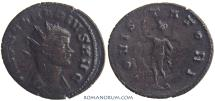Ancient Coins - CLAUDIUS II, Gothicus. (AD 268-270) Antoninianus, 3.50g.  Rome. Restruck brockage or clashed dies.