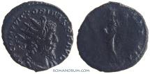 Ancient Coins - VICTORINUS. (AD 268-270) Antoninianus, 2.85g.  Cologne. FIDES MILITVM Scarcer obverse legend.