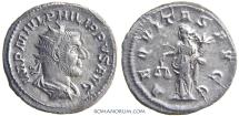 Ancient Coins - PHILIP I, The Arab. (AD 244-249 ) Antoninianus, 3.34g.  Rome.