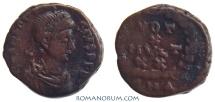 Ancient Coins - THEODOSIUS I. (AD 378-395) AE4, 1.41g.  Antioch. VOT X MVLT XX