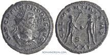 Ancient Coins - PROBUS. (AD 276-282) Antoninianus, 3.62g.  Antioch. Scarcer officina