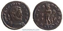 Ancient Coins - LICINIUS. (AD 308-324) AE3, 3.54g.  Trier. GENIO POP