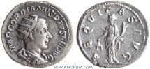 Ancient Coins - GORDIAN III. (AD 238-244) Antoninianus, 4.29g.  Rome. AEQVITAS AVG Nice, for Gordian...