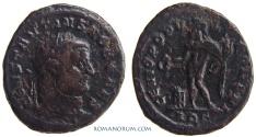Ancient Coins - CONSTANTIUS I CHLORUS. (AD 293-306) Follis, 9.67g.  Aquileia. As Caesar.