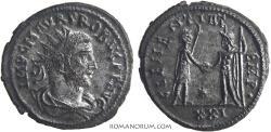 Ancient Coins - PROBUS. (AD 276-282) Antoninianus, 4.11g.  Tripolis. Silvered