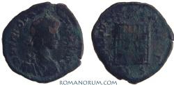 Ancient Coins - THEODOSIUS. (AD 378-395) AE4, 1.20g.  Thessalonica. GLORIA REIPVBLICE