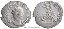 Ancient Coins - GALLIENUS. (AD 253-268) Antoninianus, 2.57g.  Cologne. VICT GERMANICA