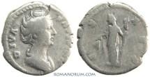 Ancient Coins - FAUSTINA SENIOR. (AD 138-141) Denarius, 3.15g.  Rome. CERES. Nice portrait.