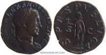 Ancient Coins - SEVERUS ALEXANDER. (AD 222-235) Sestertius, 16.26g.  Rome.