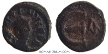 Ancient Coins - JUSTINIAN I. (AD 527-565) Pentanummium, 1.98g.  Constantinople. Large E