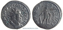 Ancient Coins - POSTUMUS. (AD 260-268) Antoninianus, 3.31g.  Lugdunum. HERC DEVSONIENSI