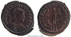 Ancient Coins - MAXIMINUS II Daza. (AD 308-313 ) Follis, 3.70g.  Siscia. IOVI CONSERVATORI