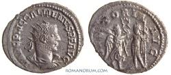 Ancient Coins - GALLIENUS. (AD 253-268) Antoninianus, 3.85g.  Samosata. VICTORIA AVG
