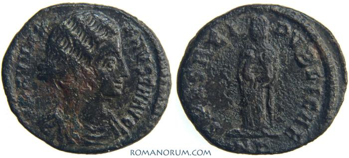 Ancient Coins - FAUSTA. (Wife of Constantine The Great) AE3, 3.03g.  Nicomedia. Rarer SPES reverse legend, rarer mint.