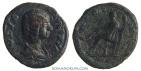 Ancient Coins - JULIA DOMNA. (Wife of Septimius Severus) Limes denarius, 2.58g.  Military mint CERERI FRVGIF