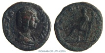 Ancient Coins - JULIA DOMNA. (Wife of Septimius Severus) Limes denarius, 2.58g.  Military mint CERERI FRVGIF