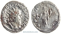 Ancient Coins - POSTUMUS. (AD 260-268) Antoninianus, 3.41g.  Cologne. VBERTAS AVG Not a fouree.
