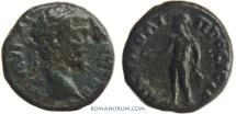 Ancient Coins - SEPTIMIUS SEVERUS. (AD 193-211) AE14, 3.11g.  Nicopolis ad Istrum. Apollo