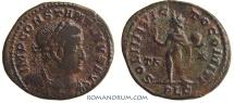 Ancient Coins - CONSTANTINE I, The Great . (AD 306-337) Follis, 3.73g.  Lugdunum. SOLI INVICTO