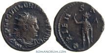 Ancient Coins - VALERIAN. (AD 253-260) Antoninianus, 3.60g.  Rome. ORIENS AVGG