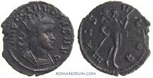 Ancient Coins - CLAUDIUS II, Gothicus. (AD 268-270 ) Antoninianus, 3.13g.  Rome. Interesting bust style.