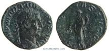Ancient Coins - PHILIP I, The Arab. (AD 244-249 ) Sestertius, 13.04g.  Rome. AEQVITAS / SC