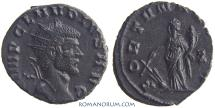 Ancient Coins - CLAUDIUS II, Gothicus. (AD 268-270 ) Antoninianus, 3.19g.  Rome. Nice bust.