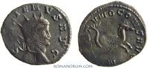 Ancient Coins - GALLIENUS. (AD 253-268) Antoninianus, 2.76g.  Mediolanum NEPTVNO CONS Hippocamp