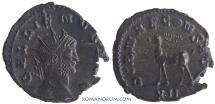 Ancient Coins - GALLIENUS. (AD 253-268) Antoninianus, 3.31g.  Rome. Gazelle.
