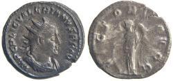 Ancient Coins - VALERIAN. (253-260 AD) Antoninianus, 3.92g.  Rome. VICTORIA AVGG