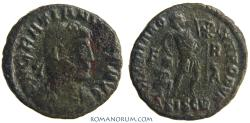Ancient Coins - GRATIAN. (AD 375 -383) AE 3, 2.38g.  Siscia. GLORIA ROMANORUM. Unlisted fieldmark combination.