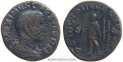 Ancient Coins - MAXIMUS. (AD 235-238) Sestertius, 21.95g.  Rome.