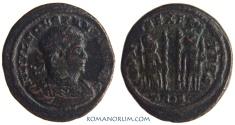 Ancient Coins - CONSTANTIUS II. (AD 337-361) AE3, 2.69g.  Trier  GLORIA EXERCITVS