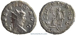 Ancient Coins - GALLIENUS. (AD 253-268) Antoninianus, 4.93g.  Rome. FELICIT PVBL Heavy antoninianus, for type.