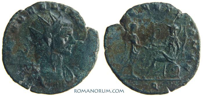 Ancient Coins - AURELIAN. (AD 270-275) Antoninianus, g.  Milan. ROMAE AETERNAE