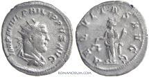 Ancient Coins - PHILIP I, The Arab. (AD 244-249 ) Antoninianus, 3.48g.  Rome.