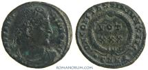 Ancient Coins - CONSTANTINE I, The Great. (AD 306-337) AE3, 2.76g.  Heraclea. Very, very rare.