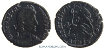 Ancient Coins - CONSTANTIUS II. (AD 337-61) AE3, 2.74g.  Constantinopla. Much rarer OL division (R_E)